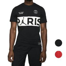 NIKE PSG ジョーダン Tシャツ メンズ パリサンジェルマン ブラック/レッド パリ ワードマーク Jordan Men's Paris Wordmark T-Shirt Black Red 大きいサイズ 送料無料
