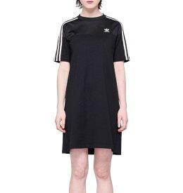 アディダス オリジナルス レディース ワンピース ティー ドレス Tシャツ ブラック 黒 adidas originals Women Dress Tee