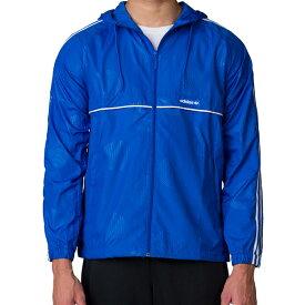 アディダス オリジナルス メンズ オオサカ ウインドブレーカー ジャケット フルジップ adidas ORIGINALS Men's OSAKA WINDBREAKER JACKET Blue
