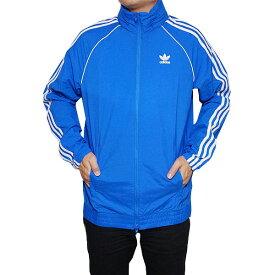 アディダス オリジナルス メンズ スーパースター ウィンドブレーカー ジャケット ブルー 青 adidas originals Men's Superstar Windbreaker Real Teal Collegiate Bluebird