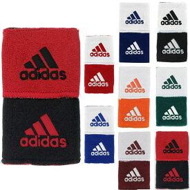 アディダス リストバンド 2個セット スポーツ インターバル リバーシブル リストバンド 両手用 野球 テニス バスケ おしゃれ ロゴ adidas Interval Reversible Wristbands 全6色