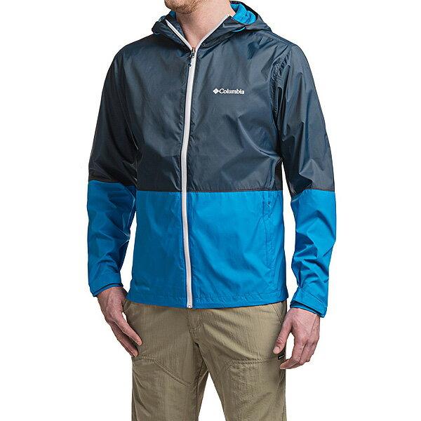 コロンビア ジャケット メンズ ローン マウンテン レイン ジャケット 青 ブルー Columbia Men's Roan Mountain Rain Jacket 【コンビニ受取対応商品】