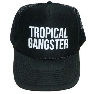 It supports Sam gong cap tropical gang star tracker black SAMUDRA Tropical Gangster Trucker Black
