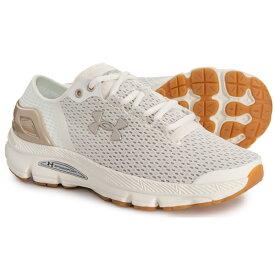 アンダーアーマー レディース ランニングシューズ スピードフォーム インテイク 2 アイボリー UNDER ARMOUR Women Speedform Intake 2 Running Shoes Ivory Ghost Gray