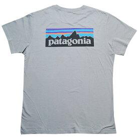 Patagonia Tシャツ パタゴニア メンズ ロゴプリント 半袖Tシャツ Patagonia Men's P-6 LOGO Organic Cotton T-Shirt