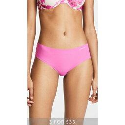(索取)Calvin Klein Underwear Womens Invisibles Hipster Panties CK內衣女子的in二是二鬥牛犬臀圍明星內褲SophiePink