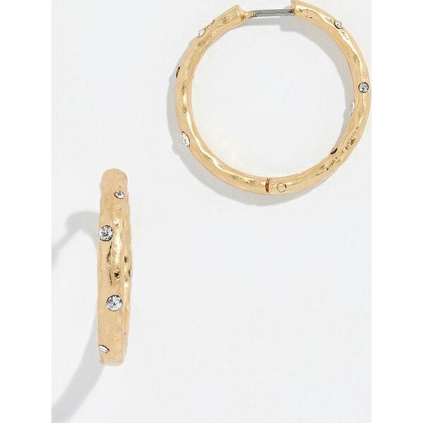 (取寄)Kate Spade New York Elegant Edge Huggie Earrings ケイトスペード エレガント エッジ ハギー ピアス ClearGold