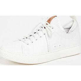 【クーポンで最大2000円OFF】(取寄)ポロ ラルフローレン ダウノビン ロウ トップ スニーカー Polo Ralph Lauren Dunovin Low Top Sneakers White