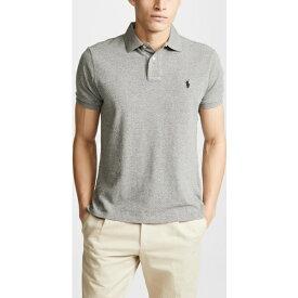 (取寄)ポロ ラルフローレン ニュー カスタム スリム ポロ シャツ Polo Ralph Lauren New Custom Slim Polo Shirt CanterburyHeather