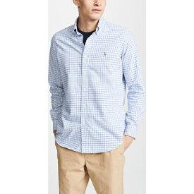 (取寄)ポロ ラルフローレン チェック オックスフォード スポーツシャツ Polo Ralph Lauren Check Oxford Sportshirt BlueWhite