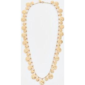 (取寄)トリーバーチ コイン ロザリオ ネックレス Tory Burch Coin Rosary Necklace Brass