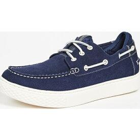 【クーポンで最大2000円OFF】(取寄)ポロ ラルフローレン デッキ 100 シューズ Polo Ralph Lauren Deck100 Shoes NewportNavy