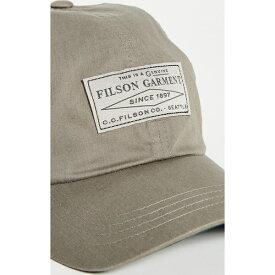 (取寄)フィルソン ライトウェイト アングラー キャップ FILSON Lightweight Angler Cap LightOlive