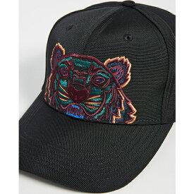 (取寄)ケンゾー キャンバス タイガー ハット KENZO Kanvas Tiger Hat Black