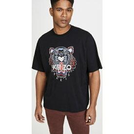 (取寄)ケンゾー クラシック タイガー オーバーサイズ Tシャツ KENZO Classic Tiger Oversize T-Shirt Black