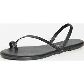 (取寄)ティキーズ レディース トングサンダル ブラック TKEES Women's LC Sandals Black