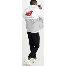 【クーポンで最大2000円OFF】(取寄)ニューバランス メンズ エヌビー エッセンシャル アイコン コーチーズ ジャケット New Balance Men's NB Essentials Icon Coaches Jacket WhiteMulti
