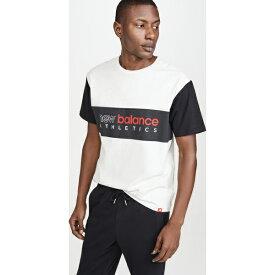 【クーポンで最大2000円OFF】(取寄)ニューバランス メンズ リラックスト フィット エッセンシャル Tシャツ New Balance Men's Relaxed Fit Essentials T-Shirt Seaslhtr