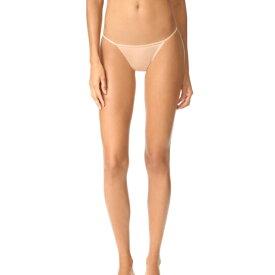 カルバンクライン アンダーウェア レディース スリーク ストリング ビキニ パンティ Calvin Klein Underwear Women's Sleek String Bikini Panties