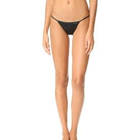 (取寄)Calvin Klein Underwear Women's Sleek String Bikini Panties カルバンクライン アンダーウェア レディース スリーク ストリング ビキニ パンティ Black