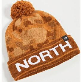 (取寄)ノースフェイス スキー チューク ハット ウィズ ポン The North Face Ski Tuke Hat with Pom CargoKhaki
