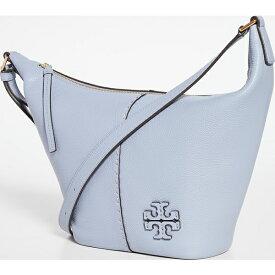 (取寄)トリーバーチ レディース McGraw スモール ジップ バケット バッグ Tory Burch Women's Mcgraw Small Zip Bucket Bag CloudBlue