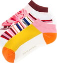 (索取)Kate Spade New York Rosa Socks Set凱特黑桃玫瑰短襪安排Pink Sand