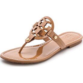 (取寄)Tory Burch Women's Miller Thong Sandals トリーバーチ レディース ミラー トング サンダル Sand