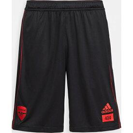(取寄)アディダス メンズ AFC x 424 トラック ショーツ adidas Men's AFC x 424 Track Shorts Black 送料無料