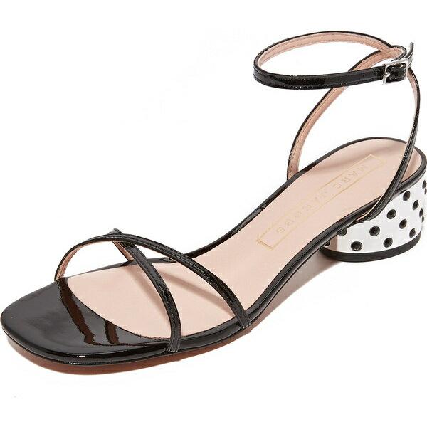 (取寄)Marc Jacobs Sybil Ankle Strap City Sandals マークジェイコブス シビル アンクル ストラップ シティ サンダル Black