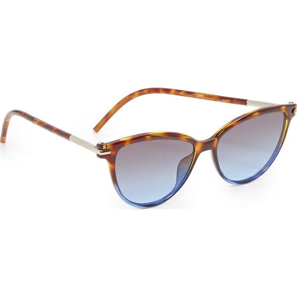 (取寄)Marc Jacobs Cat Eye Sunglasses マークジェイコブス キャット アイ サングラス Havana Brown Blue/Grey Blue
