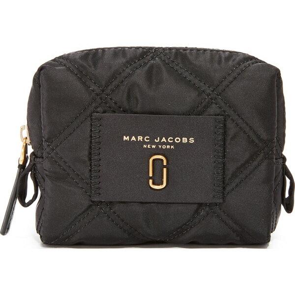 (取寄)Marc Jacobs Nylon Knot Small Cosmetic Case マークジェイコブス ナイロン ノット スモール コスメティック ケース Black