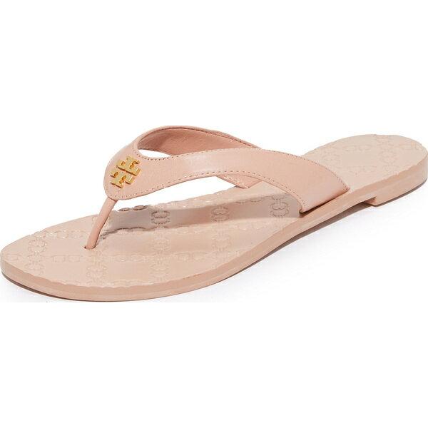 (取寄)Tory Burch Women's Monroe Thong Sandals トリーバーチ レディース モンロー トング サンダル Light Makeup