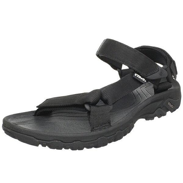 (取寄)Teva テバ メンズ ハリケーン XLT ブラック サンダル Teva Hurricane XLT Sandals Black 【コンビニ受取対応商品】