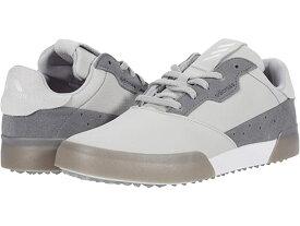 (取寄)アディダス ゴルフシューズ ジュニア キッズ アディクロス レトロ (リトル キッズ/ビッグ キッズ) adidas Golf Adicross Retro (Little Kid/Big Kid) Grey Two/White/Grey Four