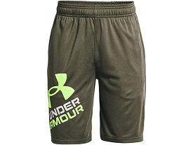 (取寄)アンダーアーマー ボーイズ キッズ プロトタイプ 2.0 ロゴ ショーツ (ビッグ キッズ) Under Armour Boy's Kids Prototype 2.0 Logo Shorts (Big Kids) Victory Green/Summer Lime