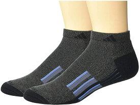 (取寄)アディダス メンズ クリマライト X 2 ロウ カット ソックス 2パック adidas Men's Climalite X II Low Cut Socks 2-Pack Black/Graphite Marl/Black/Real Blue/Onix
