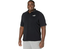 (取寄)プーマ ビッグ アンド トール エッセンシャル ピケ ポロ PUMA Big & Tall Essential Pique Polo Cotton Black