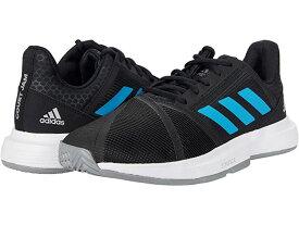 (取寄)アディダス メンズ コートジャム バウンス adidas Men's CourtJam Bounce Black/Sonic Aqua/White