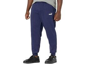 (取寄)プーマ メンズ ビッグ アンド トール エッセンシャル ロゴ スウェットパンツ PUMA Men's Big & Tall Essentials Logo Sweatpants Peacoat