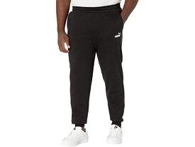 (取寄)プーマ メンズ ビッグ アンド トール エッセンシャル ロゴ スウェットパンツ PUMA Men's Big & Tall Essentials Logo Sweatpants Cotton Black