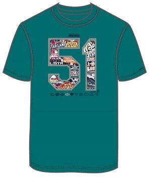 【予約販売】イチロー引退記念TシャツUSA発売デザインの日本サイズ版!MM01-SM-9012-NV