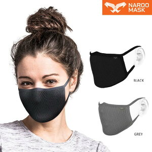 NAROOMASKF.U+(ナルーマスク)花粉/PM2.5/ダストを99%除去スポーツマスク!UVカット高機能フィルターマスク