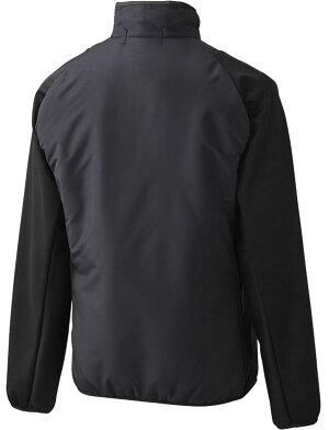 【asics/ゴールドステージ】ブレードキルトジャケット●表面にニット素材、裏面にフリース●保温・防風・ストレッチ性・軽量抜群!●アシックス●BAW152