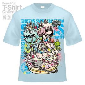 【Project.C.K】【プロジェクトシーケー】【Tシャツ】【キャラクター】【SWEETS】11-pck-0051