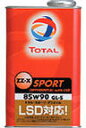 TOTAL / トタル ZZ-X SPORT DIFFERENTIAL with LSD 2L(1L缶×2本) [ 粘度 85w-90 / 85w90 ] ■ ...