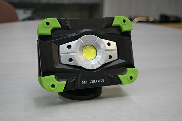 MARVELLOUS(マーベラス)MONSTER1000 充電式リチウムイオンバッテリー内蔵LEDハンドランプ
