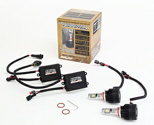 BELLOF / ベロフ LEDヘッドライトランプバルブ フォースレイ 6500K HB3/HB4タイプ ■ 車検対応 3年保証 ■ LEDランプ LEDバルブ LEDライト