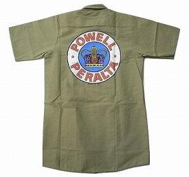 POWELL パウエル P.P SUPREME CROWN クラウン ワークシャツ ベージュ