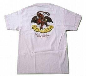 POWELL PERALTA パウエル CABALLERO CAB 2 DRAGON キャバレロ ドラゴン 2 Tシャツ ライトピンク
